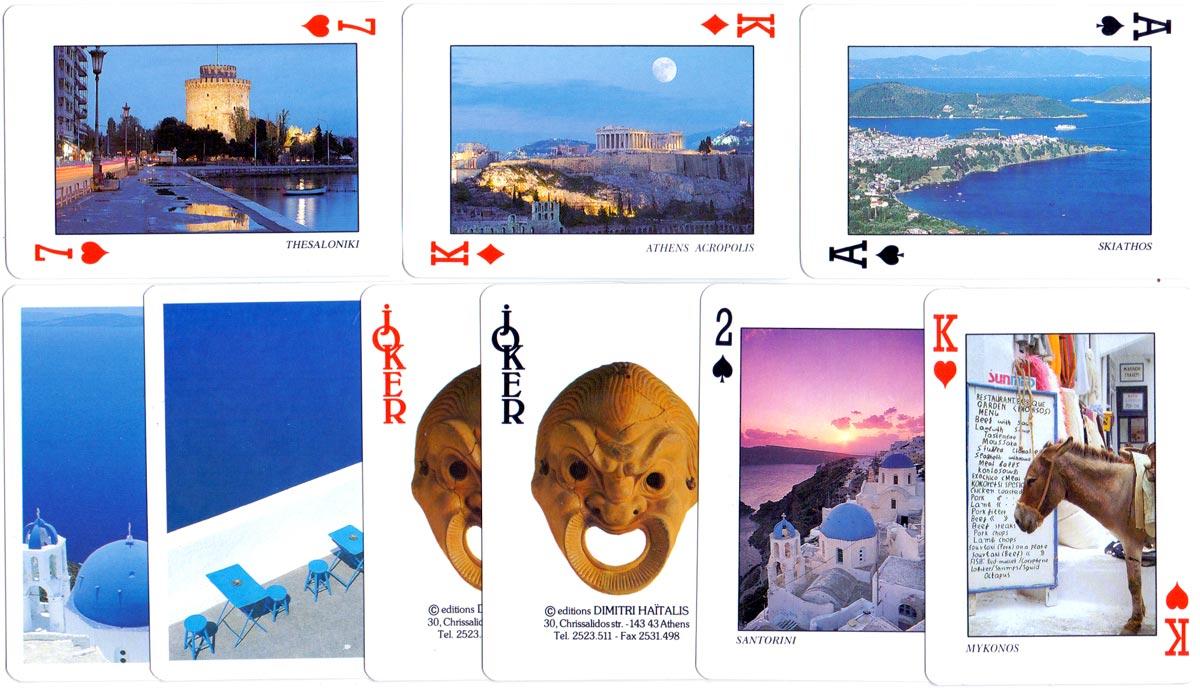 Greek playing cards