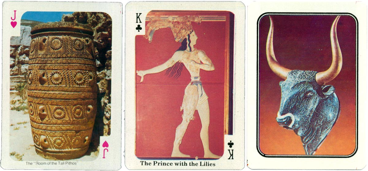 Souvenir from Crete - 54 full colour playing cards © Editions Eurocard