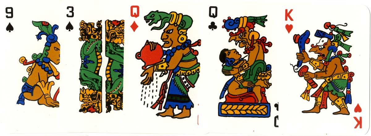 Mayan Playing Cards - Baraja Maya - from Guatemala