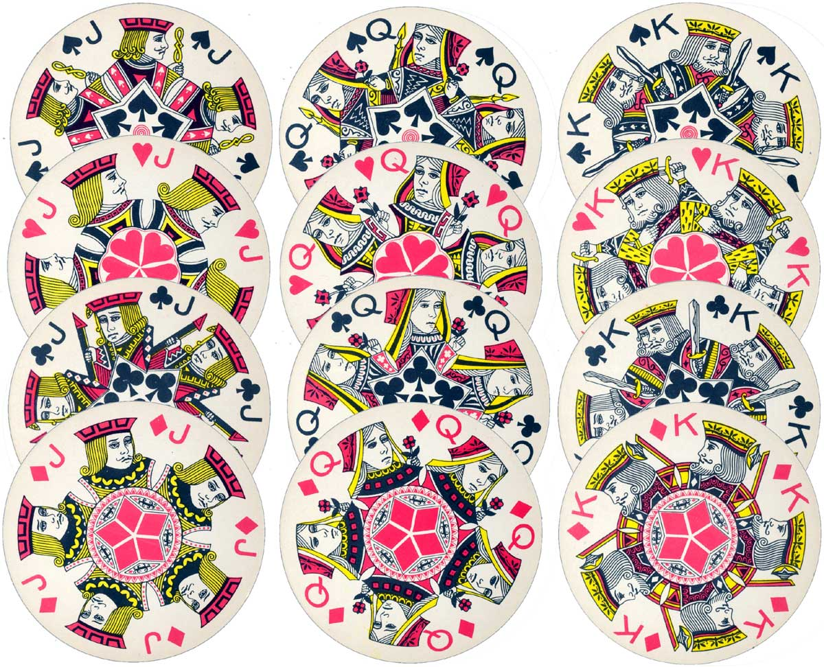 Fairy Brand Round Playing Cards No.200A