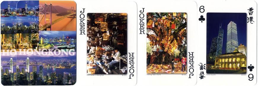 Hong Kong Souvenir playing cards, photography by Edmond Chan