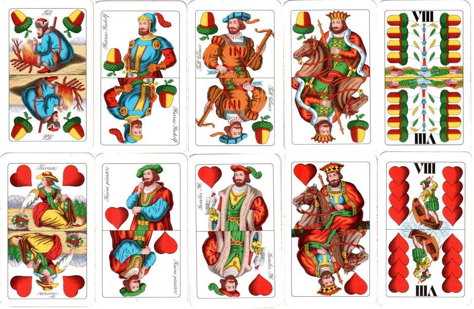 Hungarian 'Seasons' pattern