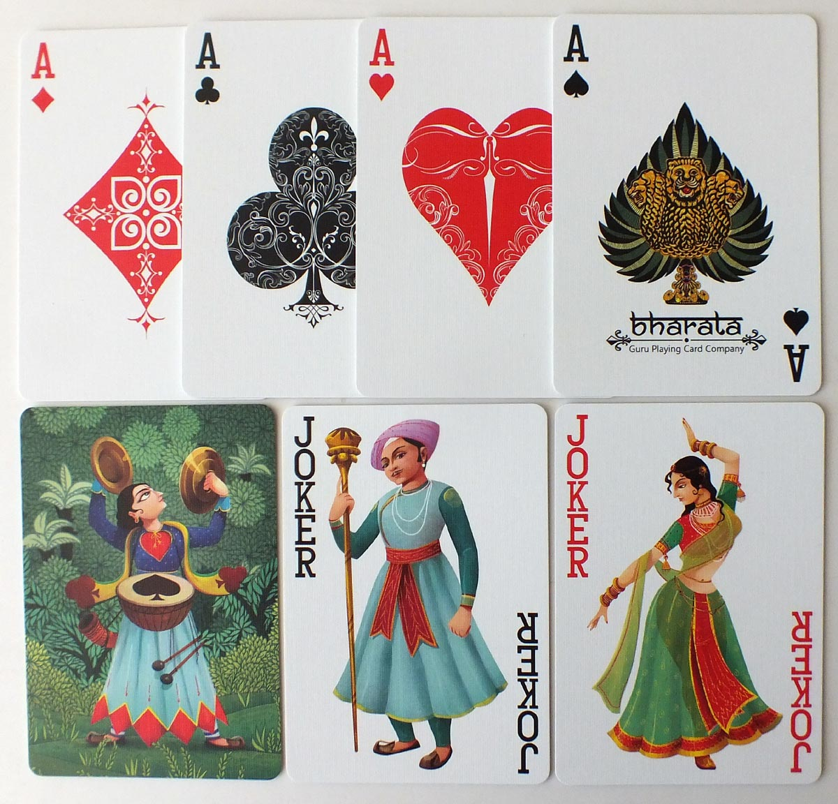 Bharata Playing Cards - Series 2 - published by Sunish Chabba, 2018