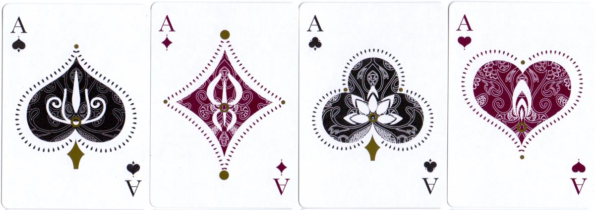 Divine Art Playing Cards by Sunish Chabba & Guru Playing Card Company, 2016