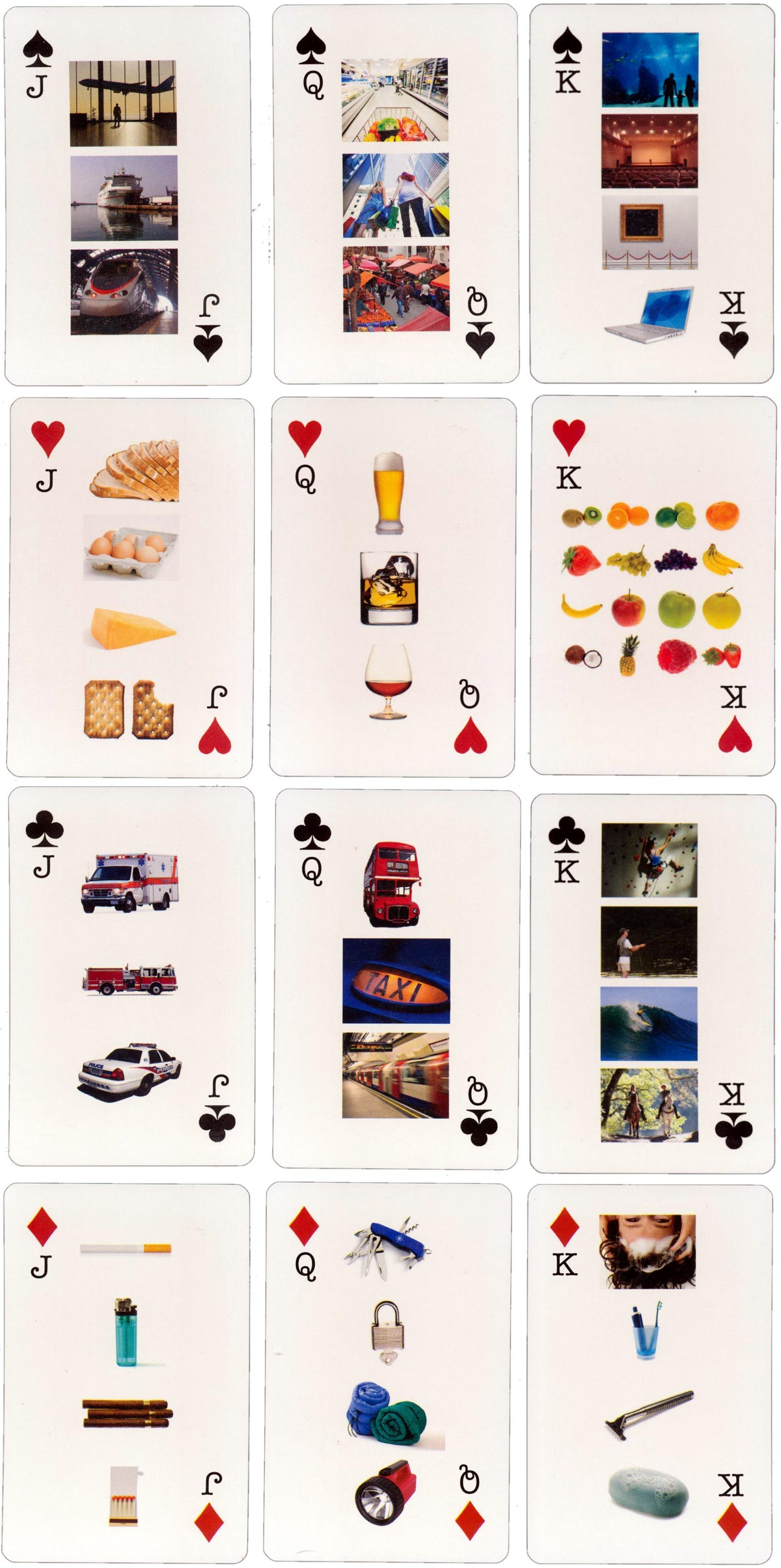 Lingo Pix Tourist Picture Cards by TM Cards, India, 2006