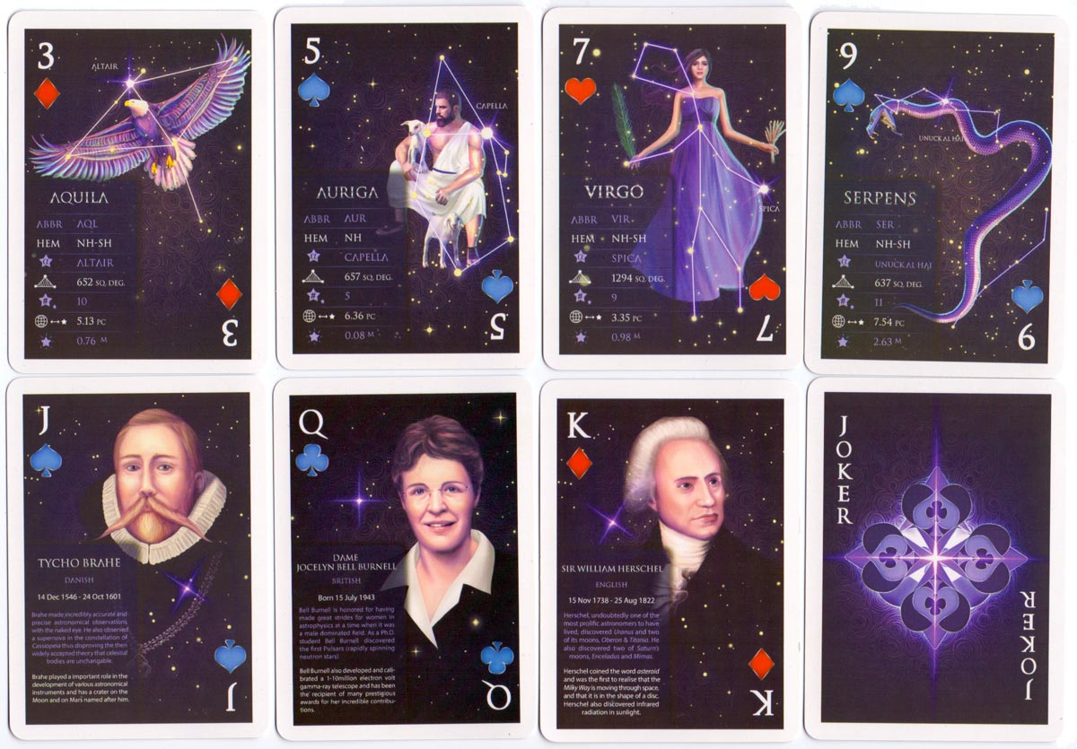 """""""Star Stack"""" educational playing cards published by EduStack, 2015"""
