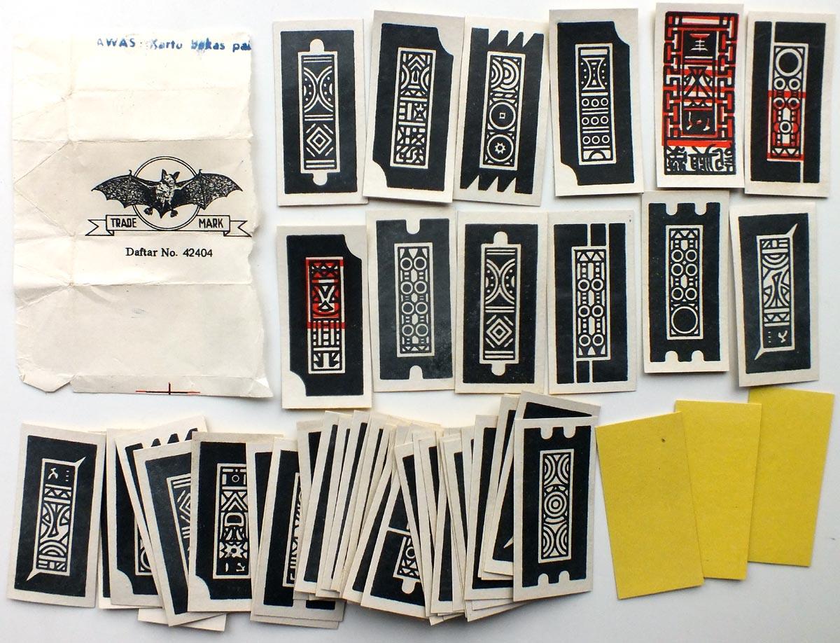 Indonesian Ceki cards