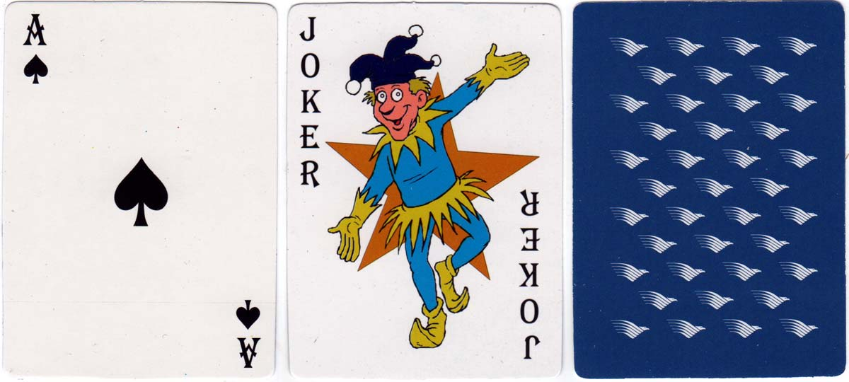 Souvenir playing cards from Garuda Indonesia Airlines