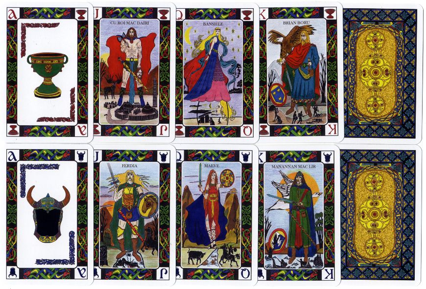 Celtic Journey playing cards, where art and culture meet - designed by Carmen G. Carballeira.