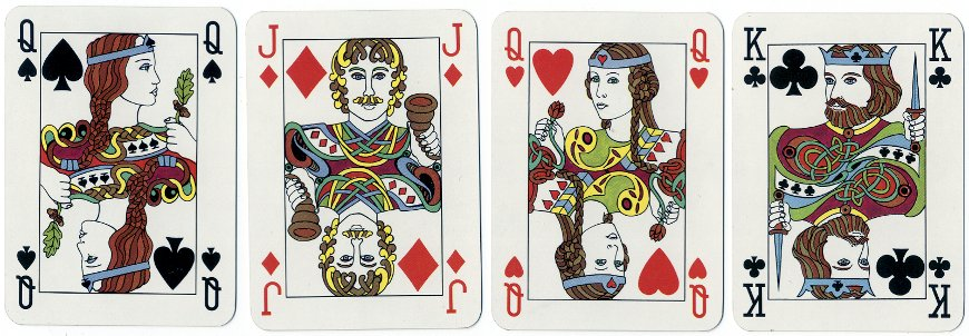 Irish playing cards