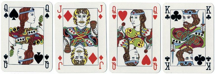 Irish playing cards