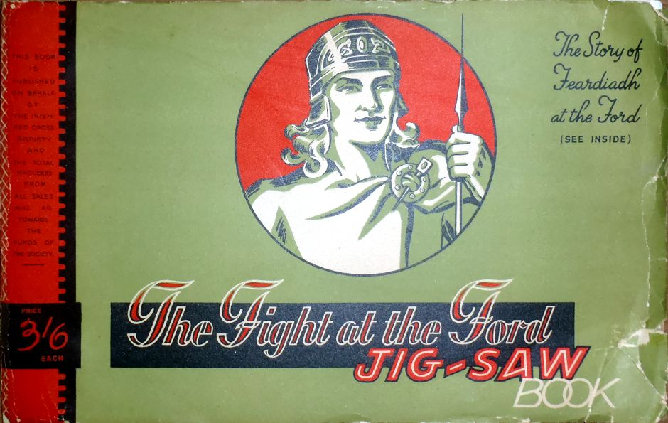 The Fight at the Ford Jig-Saw book