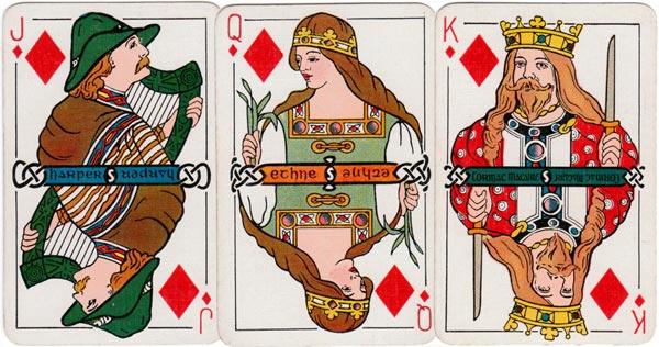 Irish Historic Playing Cards, 1920