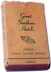 Great Southern Hotels box by Ormond Printing Co., c.1935-50