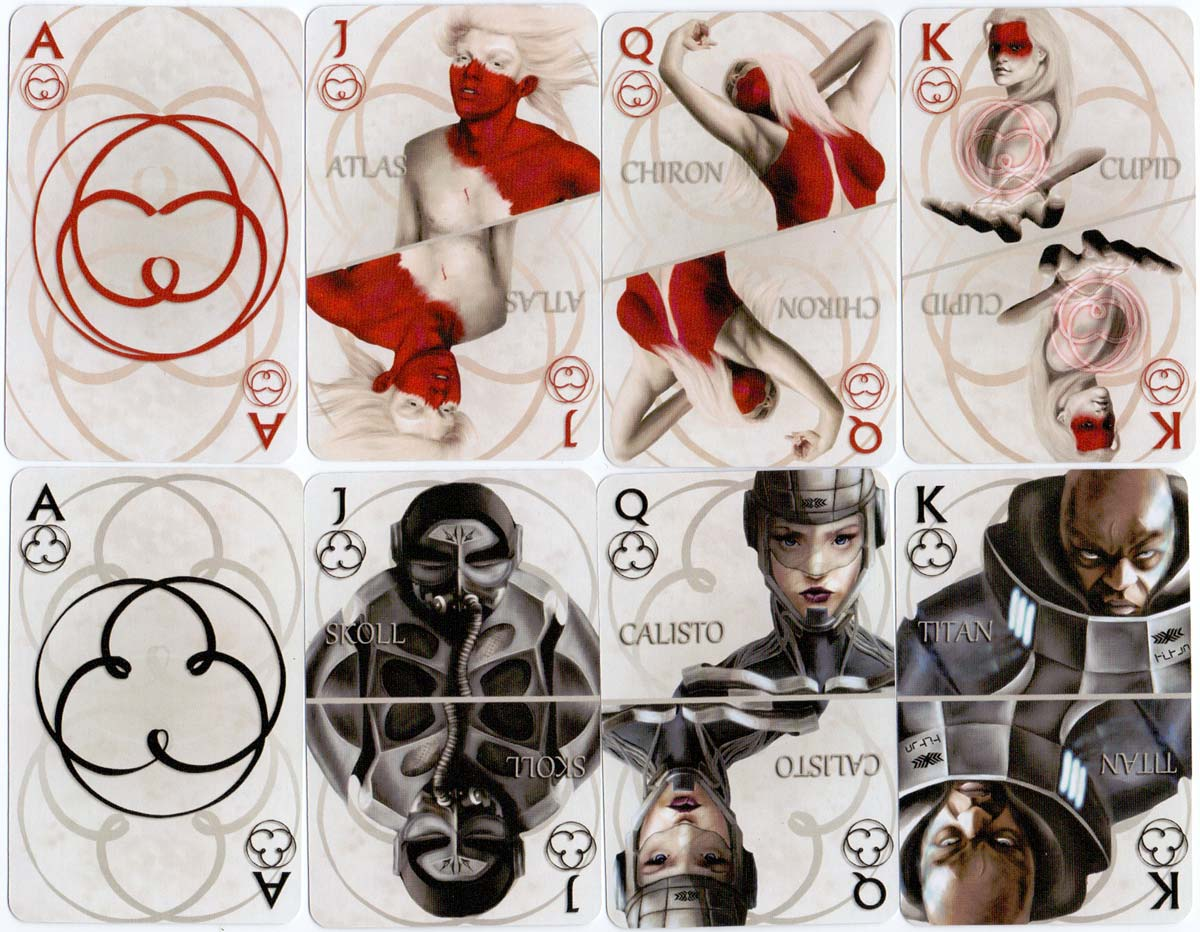 Quantum playing cards by Catherine Geaney, 2010