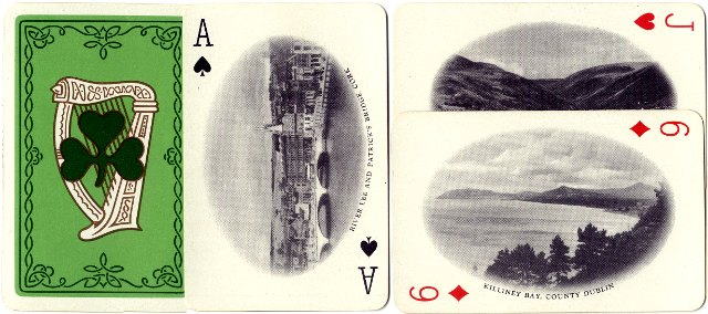 Irish Tourist Association Souvenir playing cards