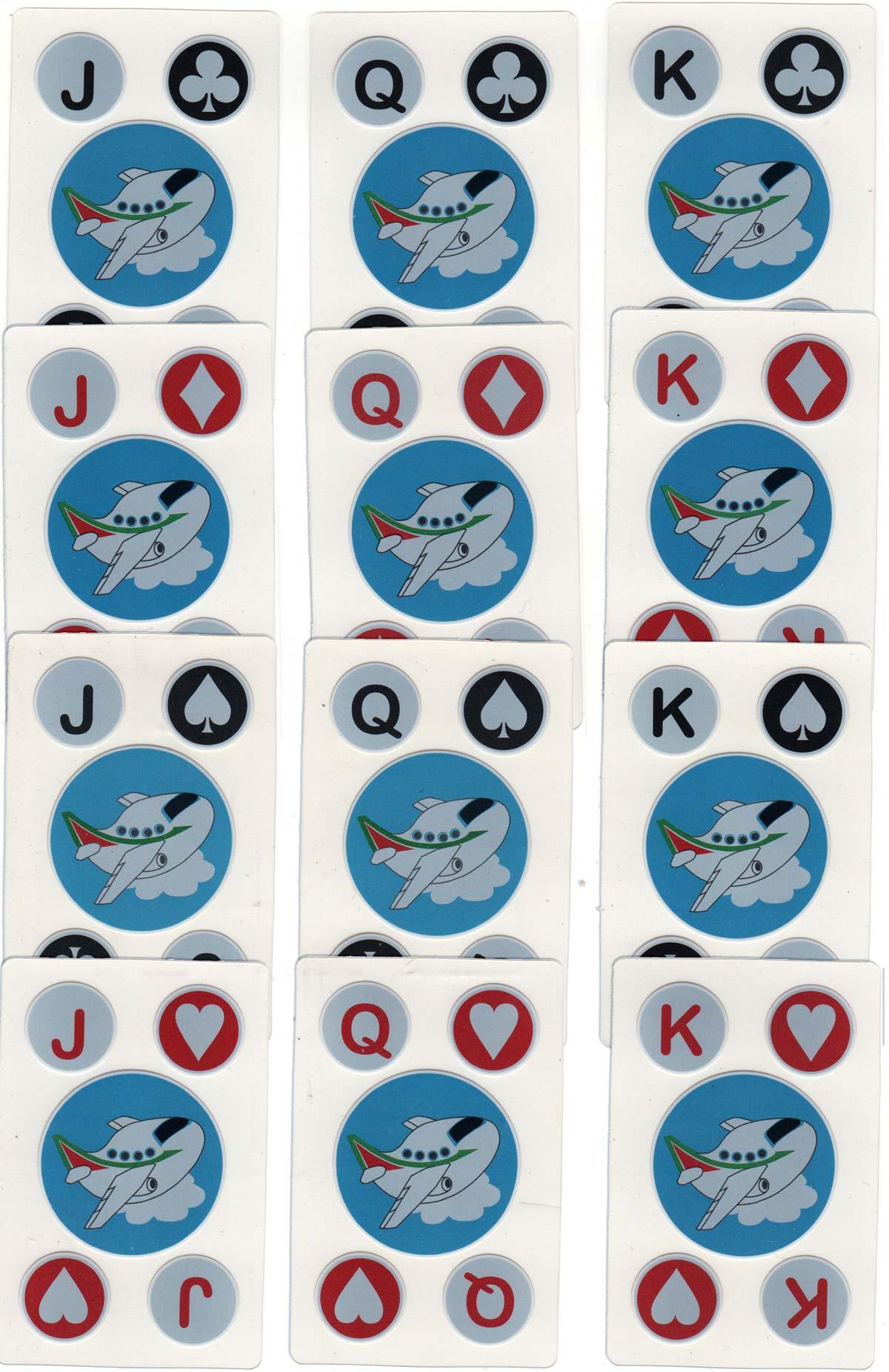 Alitalia advertising deck produced by Premier Portfolio International Ltd
