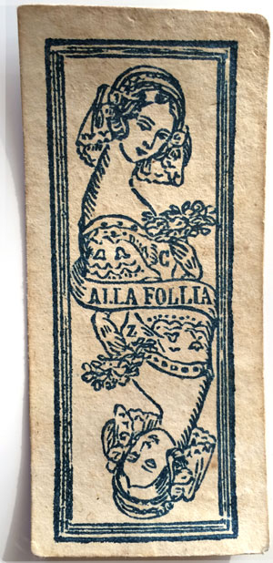 Tarocchino Bolognesi by Carlo Zanardi, c.1770