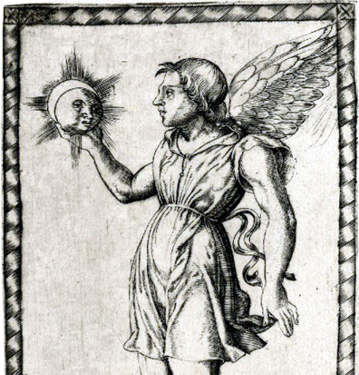 Iliaco from the Tarocchi di Mantegna, c.1465
