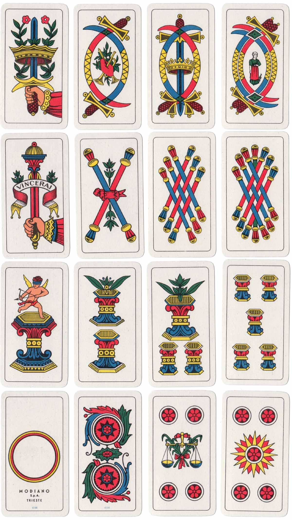 Bergamasche pattern by Modiano, 1970s