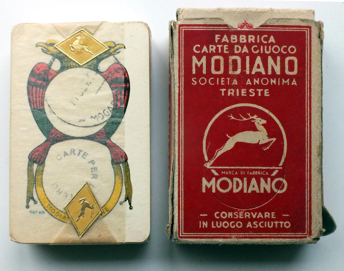Neapolitan pattern, Modiano, 1958