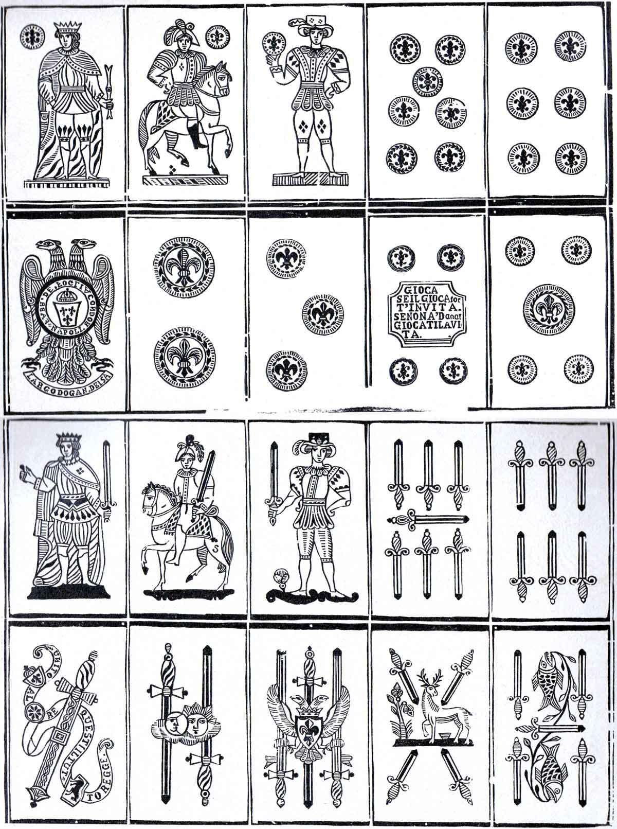 Napolitan pattern, 19th century