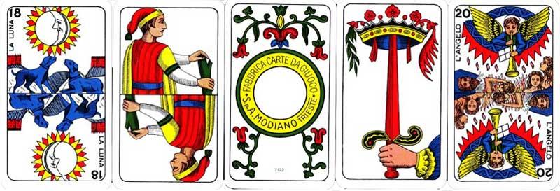 Tarocco Piemontesi by Modiano, 2000
