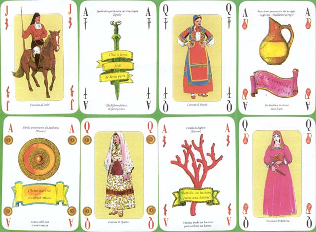 Sardinian playing cards