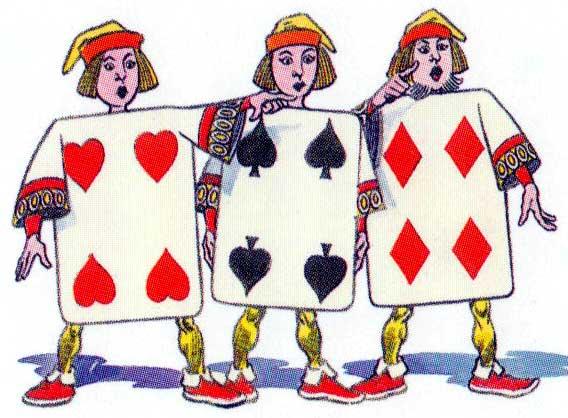 Alice artwork by Jesús Blasco, published by Lo Scarabeo, 2003