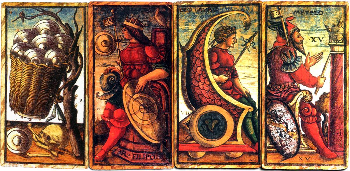 Sola-Busca Tarocchi, c.1490