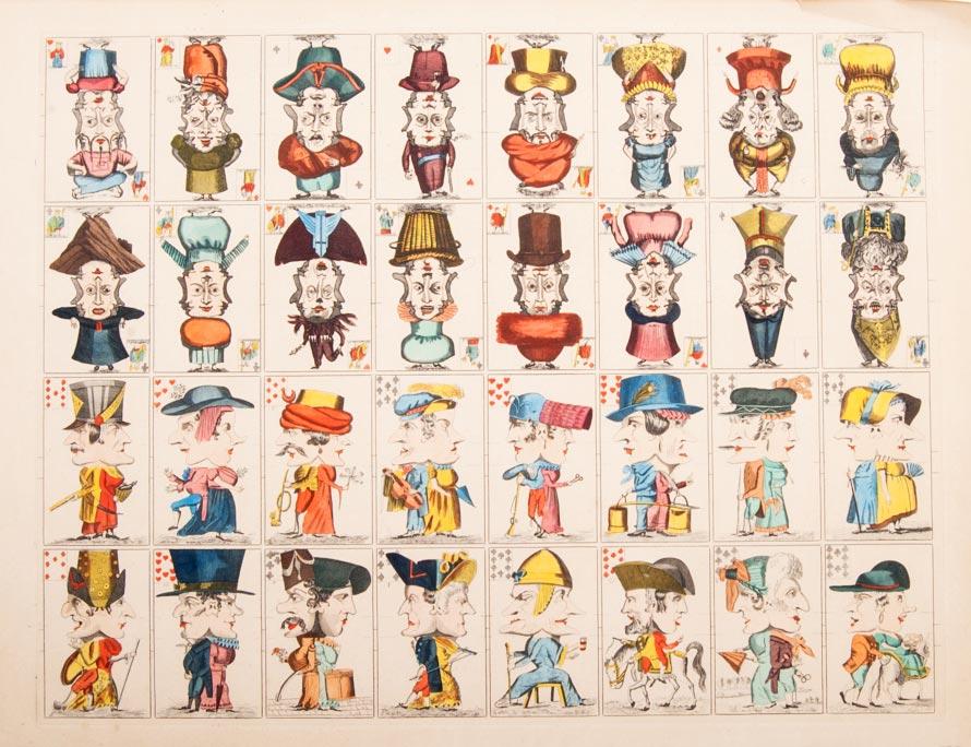miniature version of Jeu Grotesque published by Vito Arienti, Edizioni del Solleone, 1977