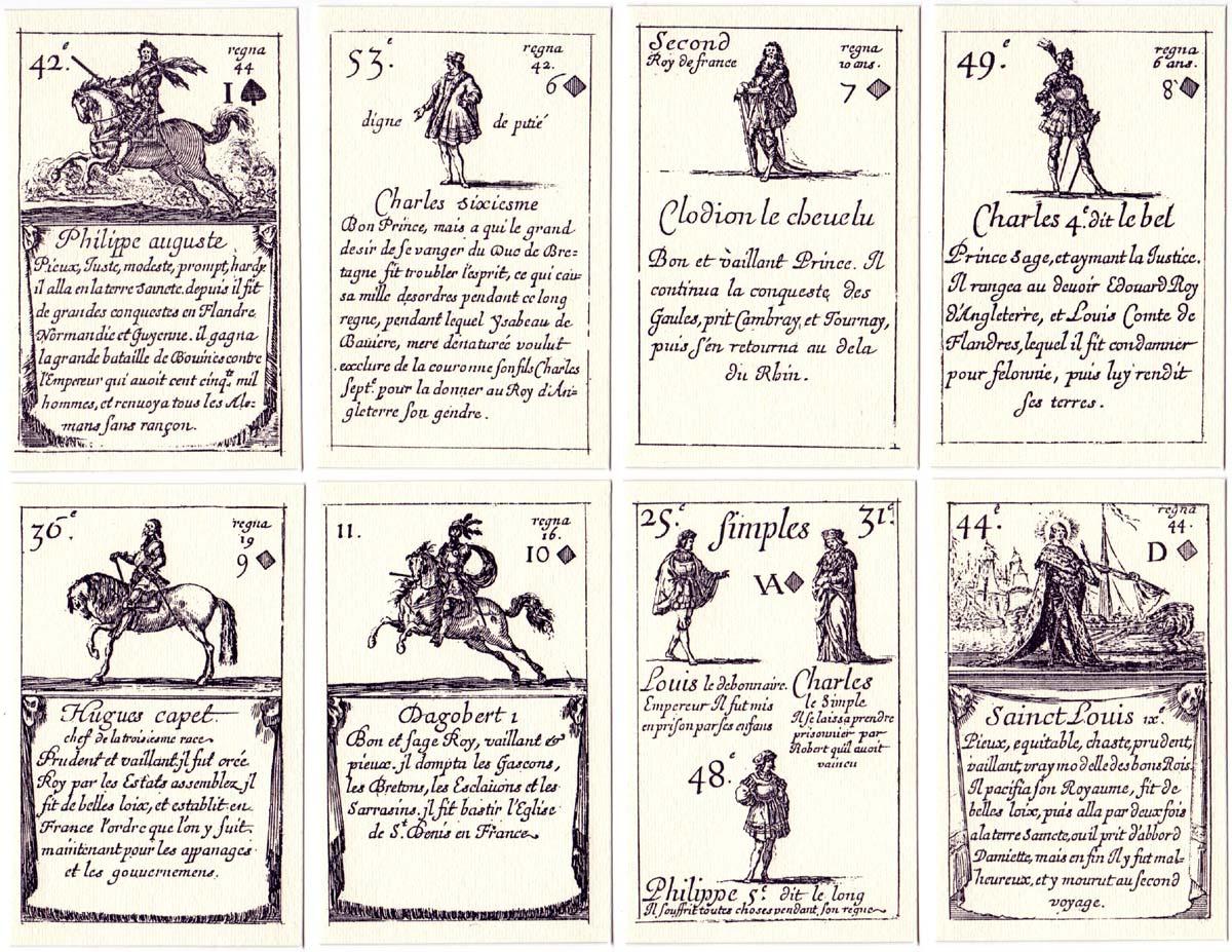 Cartes des Rois de France (1644) facsimile edition by Edizioni del Solleone, 1986