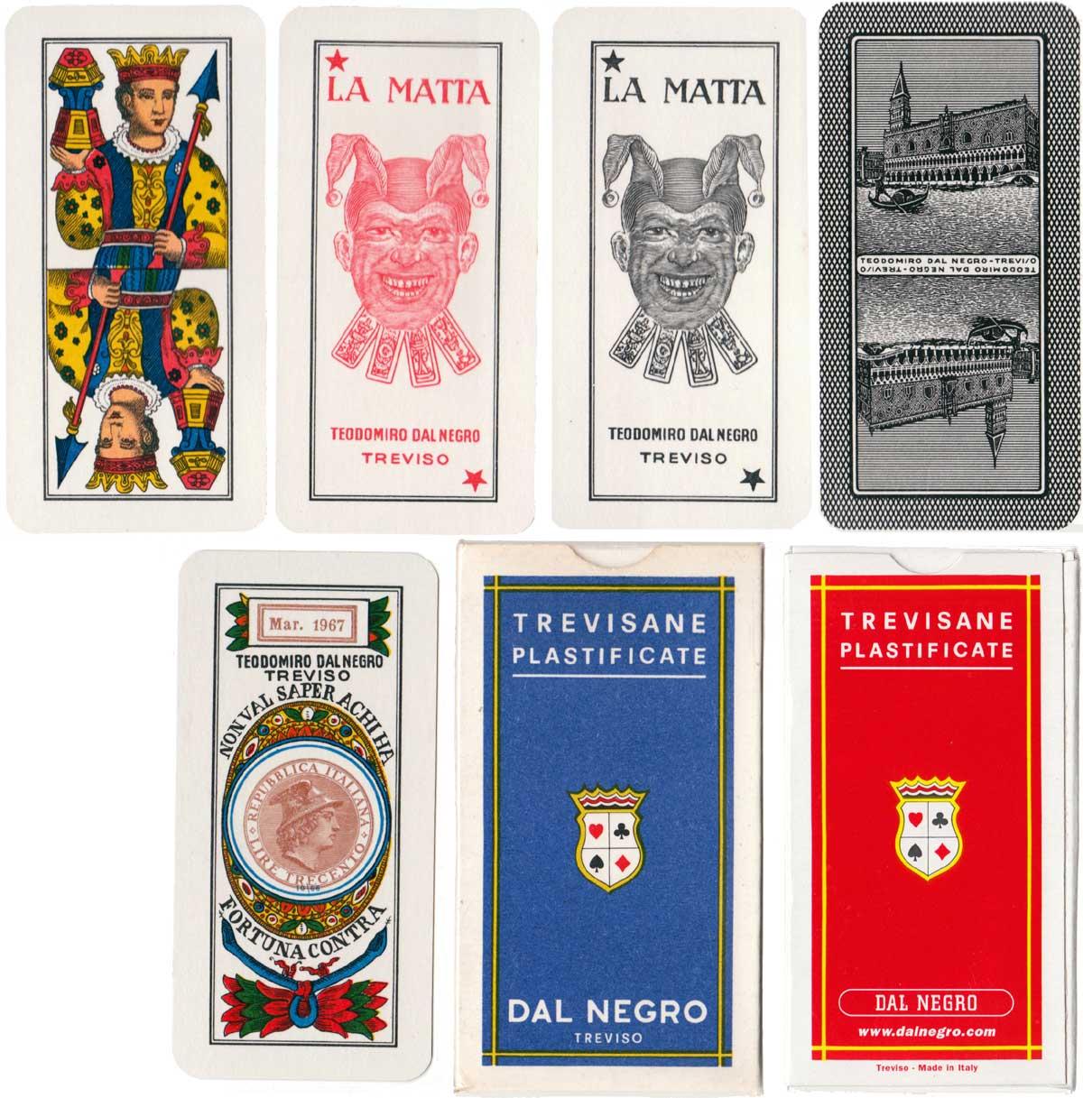 Trevisane pattern by Dal Negro, Treviso, 1971
