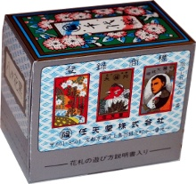 Box from Japanese Flower Cards made by Nintendo, Japan, 2008