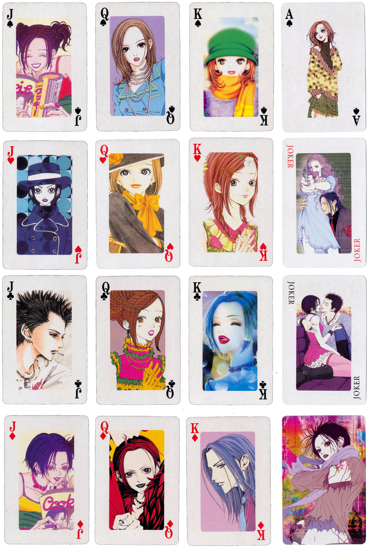 'Nana Poker' created by Hongyi in 2003