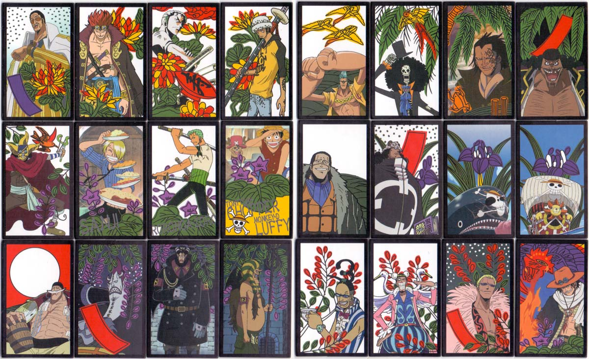 One Piece Hanafuda King published by Beverly Enterprises Inc, Tokyo, 2010