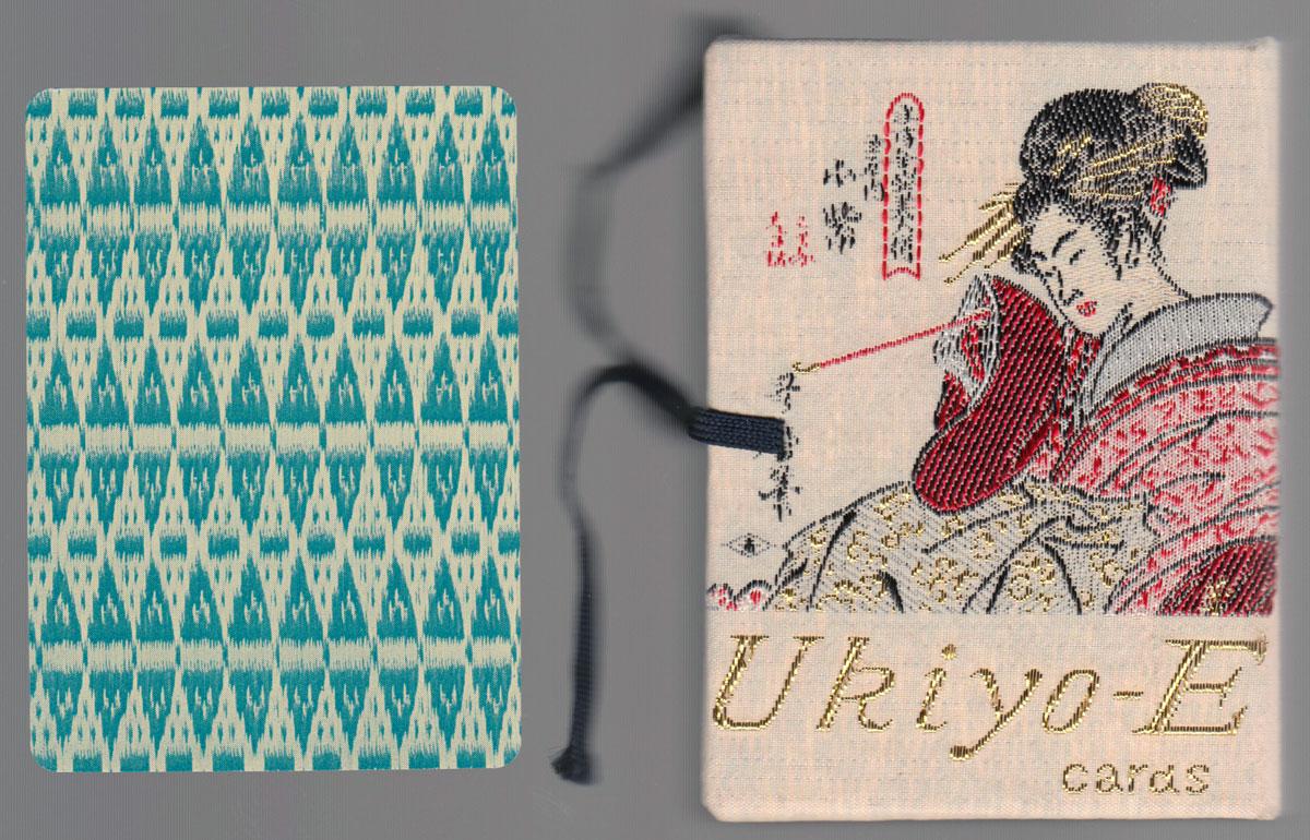 Ukiyo-e deck by Sanyo Enterprises from 1980s