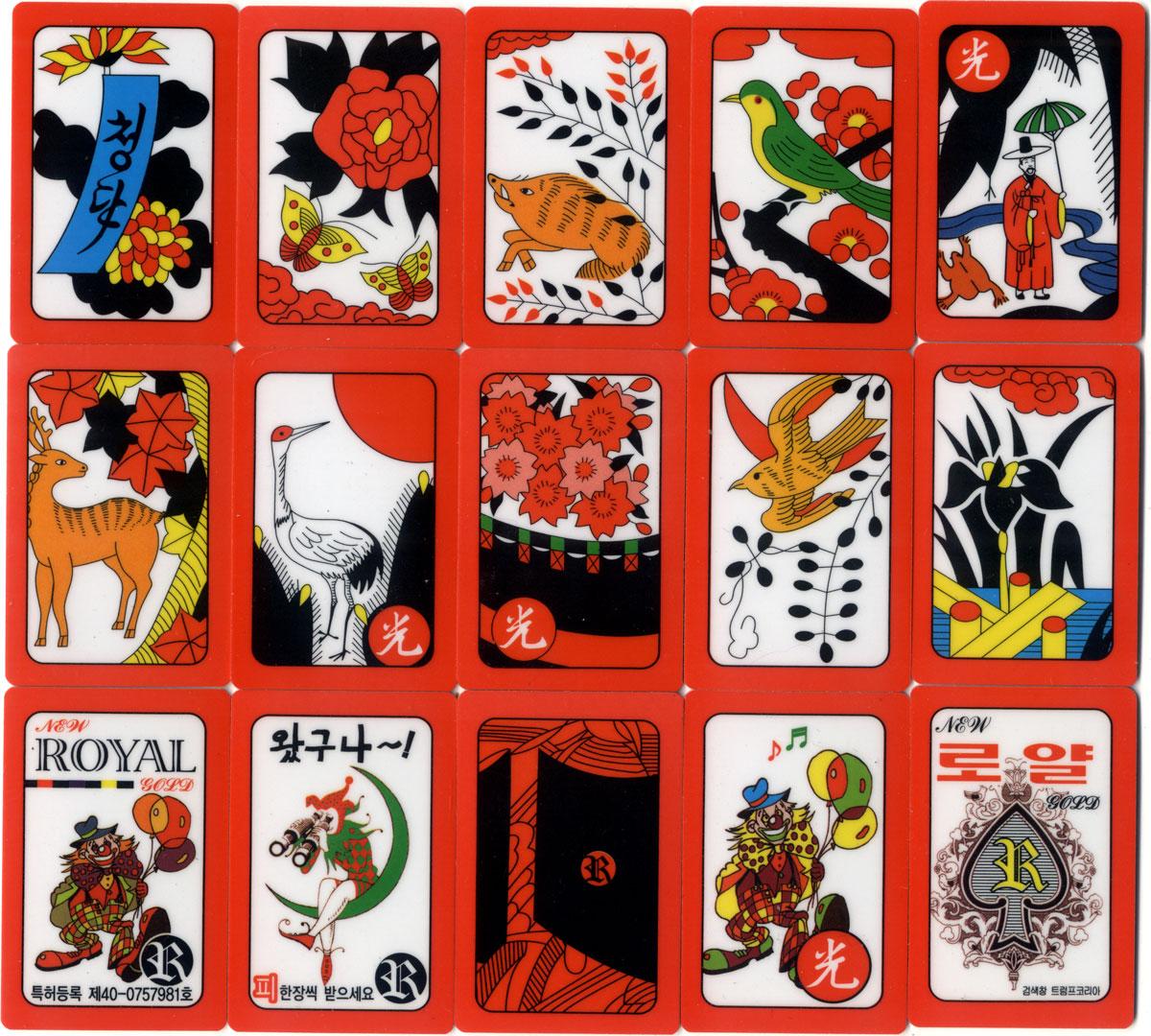 Hwatu cards made in Korea