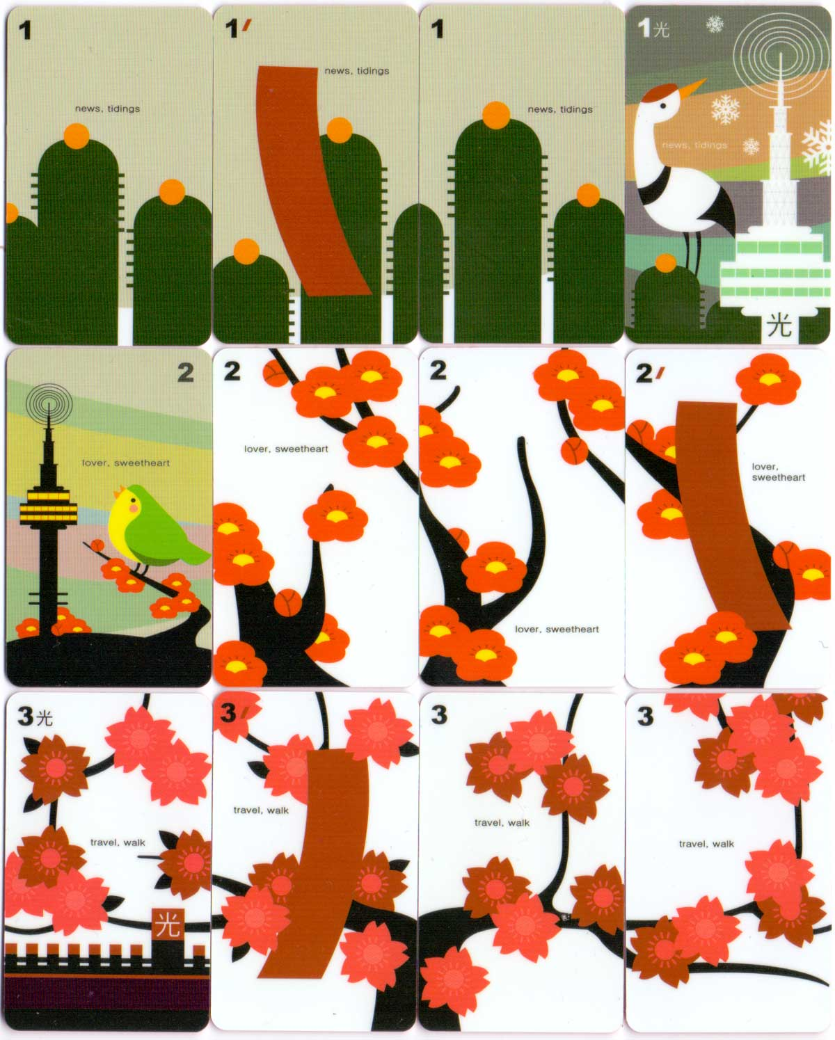 Seoul Tower Hwatu published by Miracle Fish ©2008