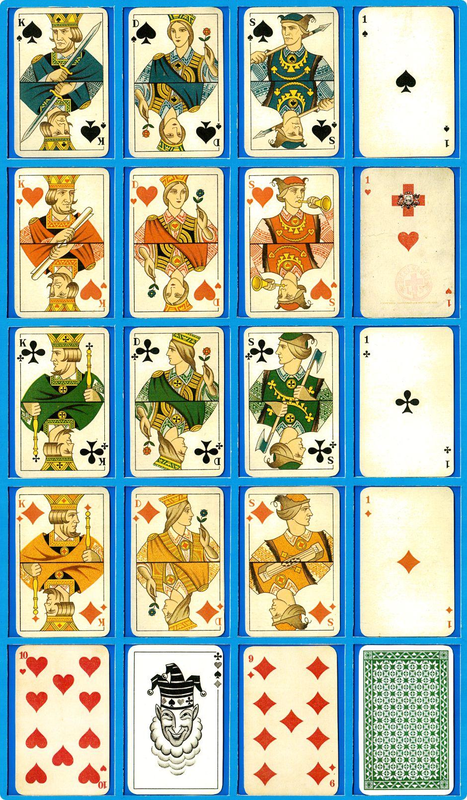 Cards designed by Alfreds Scwedrevitz, 1936