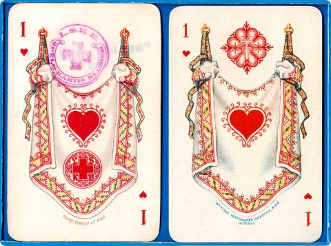 Playing Cards designed in Latvia by Stefans Bercs