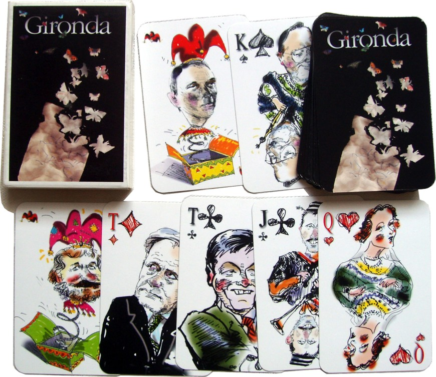 Lithuanian Political playing cards, 2001