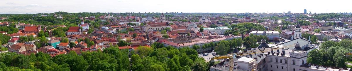 View of Vilnius