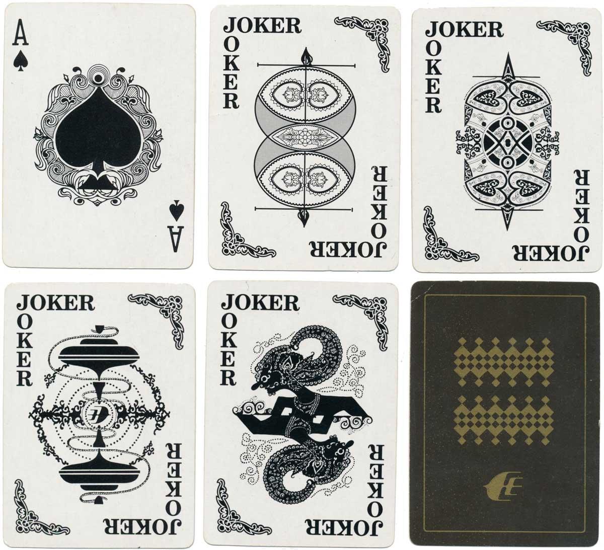 Malaysian Airlines by Syarikat Duasama Playing Cards