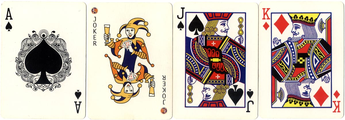 Tiger Beer advertising playing cards