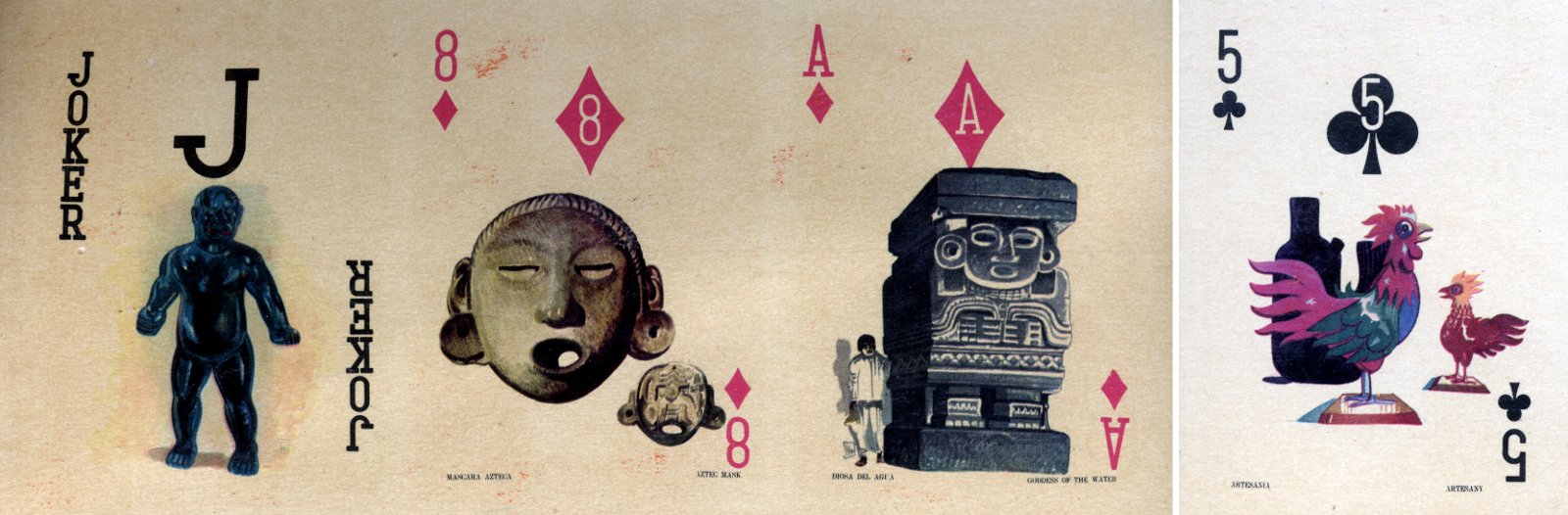 Special pack for Aeronaves de Mexico S.A. designed by Ramón Valdiosera Berman, mid-1960s