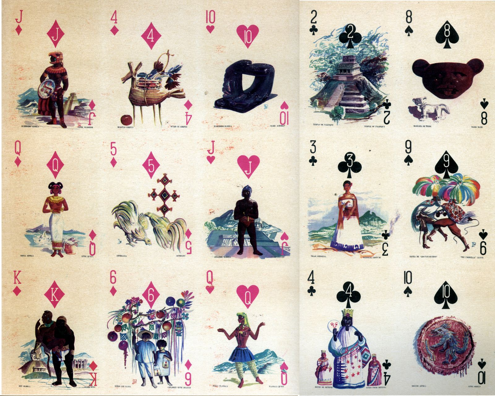 Special pack for Aeronaves de Mexico S.A., designed by Ramón Valdiosera Berman, mid-1960s