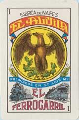 Naipe El Ferrocarril by La Cubana S.A.