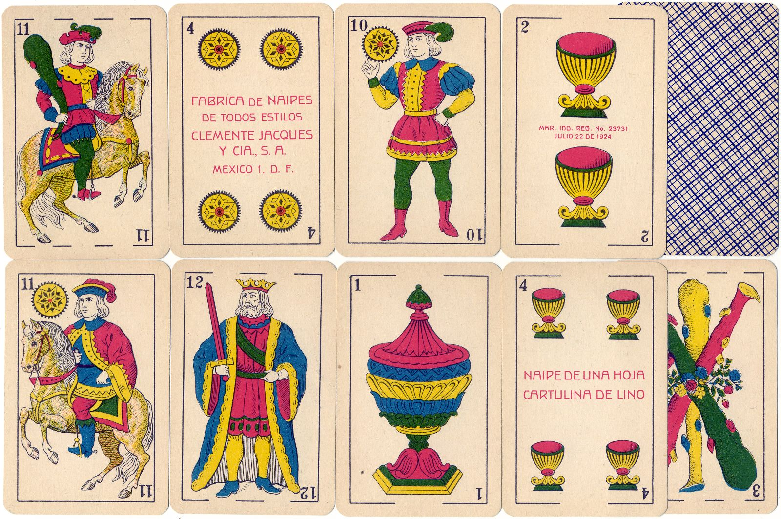 Naipes El León, Mexico, c.1950
