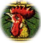 Cockerel trademark - Naipes Gallo - Clemente Jacques